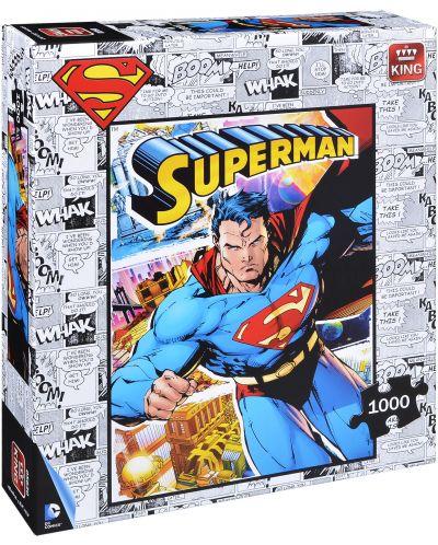 Пъзел King от 1000 части - Супермен - 1
