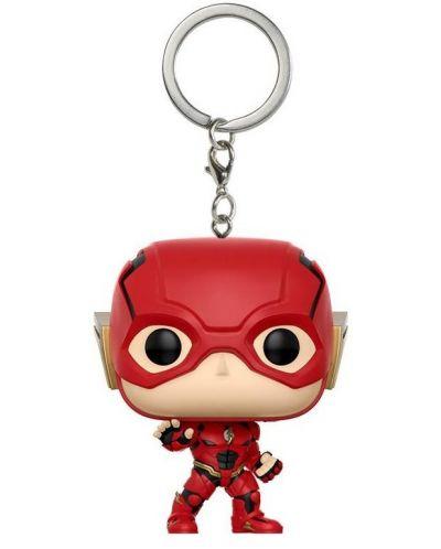 Ключодържател Funko Pocket Pop! DC Justice League - The Flash, 4 cm - 1