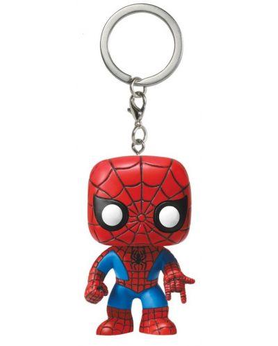 Ключодържател Funko Pocket Pop! Marvel - Spider-Man (Special Edition) - 1