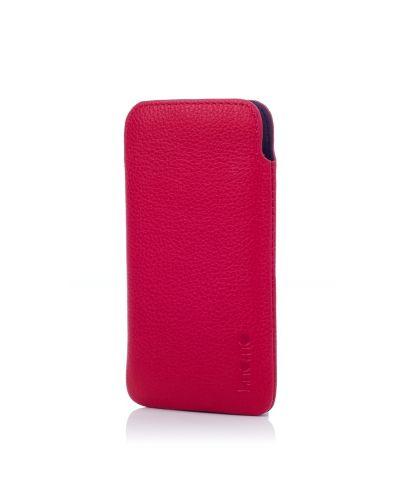 Knomo Ultraslim Pouch за iPhone 5 -  розов - 2