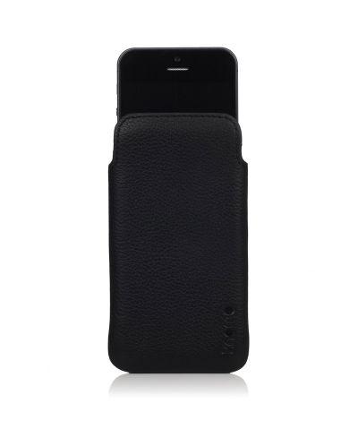 Knomo Ultraslim Pouch за iPhone 5 -  черен - 1