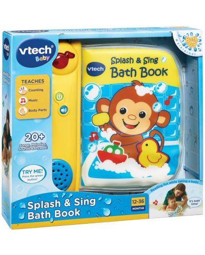 Образователна книжка Vtech - Музикална, за баня - 2