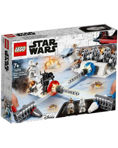 Конструктор Lego Star Wars - Action Battle Hoth Generator Attack (75239) - 1