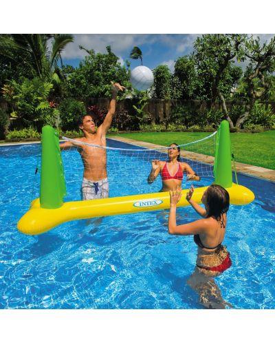 Надуваем комплект за воден волейбол Intex - 2