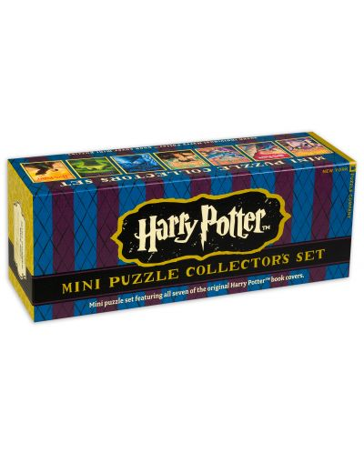 Колекционерски сет мини пъзели New York Puzzle от 100 части - Хари Потър - 1