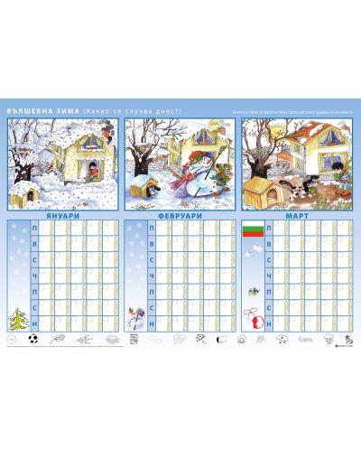 Комплект табла за подготвителна група в детската градина и в училището - 3