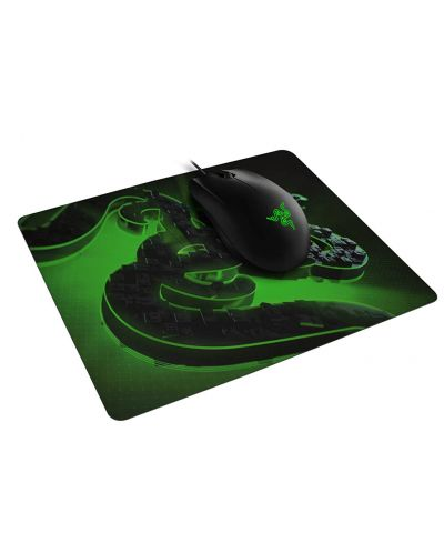 Комплект мишка и пад Razer - Abyssus Lite & Goliathus Mobile Construct Ed. - 2