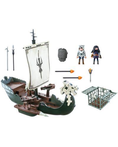 Конструктор Playmobil Dragons - Кораб, 45 части - 3