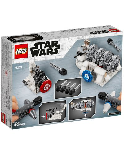 Конструктор Lego Star Wars - Action Battle Hoth Generator Attack (75239) - 2