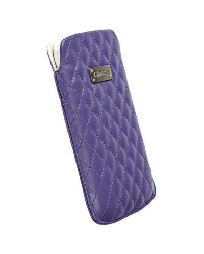Krusell Avenyn Mobile Pouch L Long за iPhone 5 -  лилав - 1