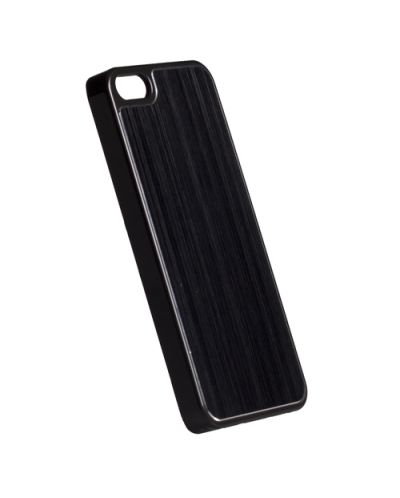 Krusell Bioserie AluCover Plain за iPhone 5 -  черен - 1