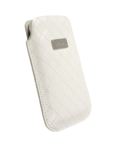 Krusell Avenyn Mobile Pouch L Long за iPhone 5 -  бял - 1