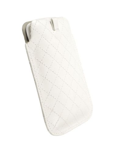 Krusell Avenyn Mobile Pouch L Long за iPhone 5 -  бял - 2
