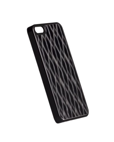 Krusell Bioserie AluCover Wave за iPhone 5 -  черен - 1
