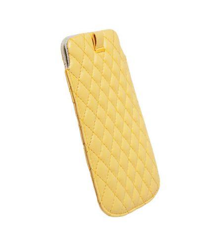 Krusell Avenyn Mobile Pouch L Long за iPhone 5 -  жълт - 2