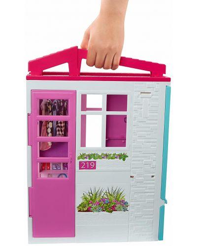 Игрален комплект Mattel Barbie - Къща за кукли - 7