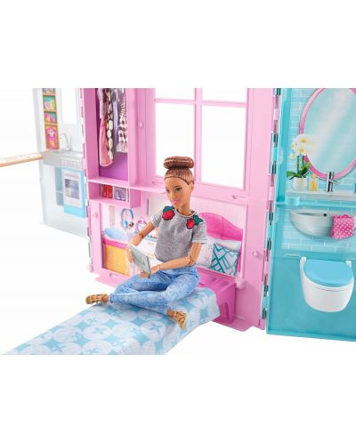 Игрален комплект Mattel Barbie - Къща за кукли - 5