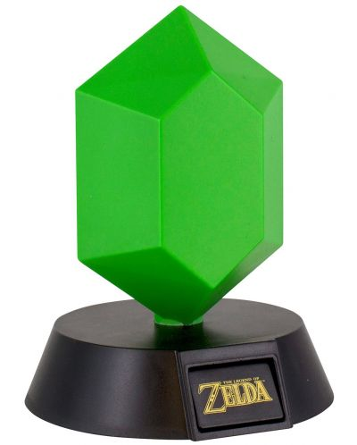 Мини лампа Paladone Nintendo The Legend of Zelda - Green Rupee, 10 cm - 1
