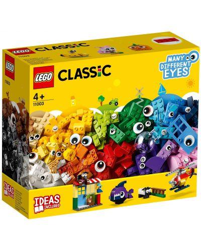 Конструктор Lego Classic - Тухлички и очи (11003) - 10