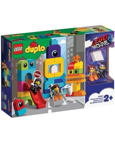 Конструктор Lego Duplo - Посетителите на Емет и Люси от планета DUPLO® (10895) - 5