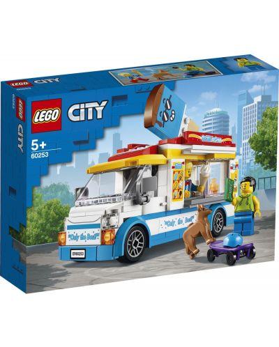 Конструктор Lego City Great Vehicles - Камион за сладолед (60253) - 1