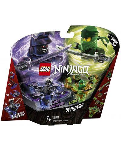 Конструктор Lego Ninjago - Спинджицу Lloyd VS Garmadon (70664) - 1