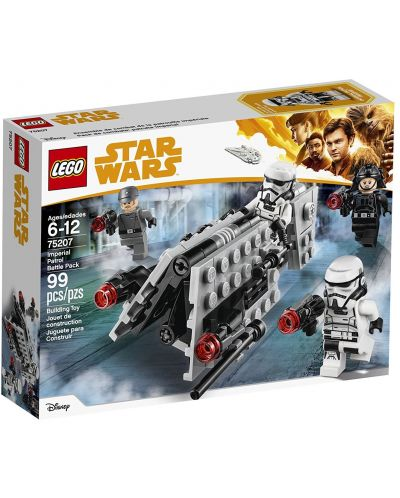 Конструктор Lego Star Wars - Imperial Patrol Battle Pack (75207) - 1