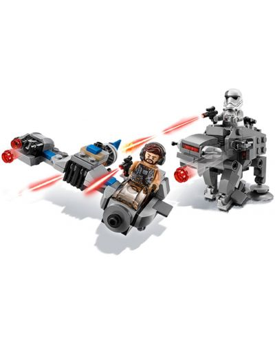 Конструктор Lego Star Wars - Ski Speeder™ vs. First Order Walker™ Microfighter (75195) - 10