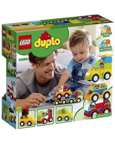 Конструктор Lego Duplo - Моите първи автомобилни творения (10886) - 3