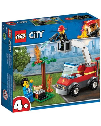 Конструктор Lego City - Изгарящо барбекю (60212) - 1