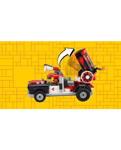Конструктор Lego Batman Movie - Харли Куин – нападение с гюлета (70921) - 7
