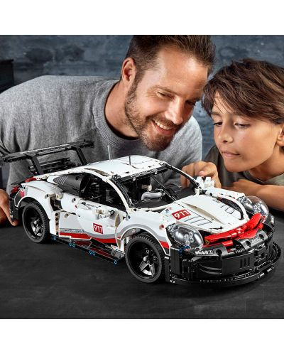 Конструктор Lego Technic - Porsche 911 RSR (42096) - 4