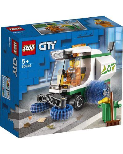 Конструктор Lego City Great Vehicles - Машина за метене на улици (60249) - 1