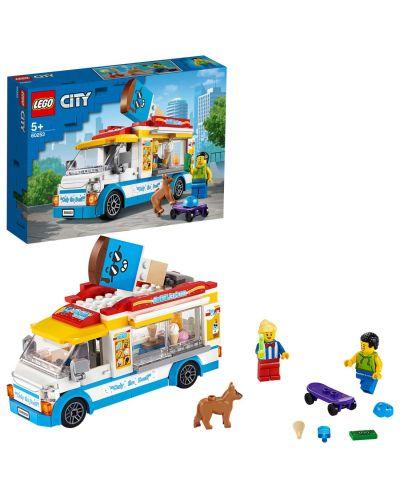Конструктор Lego City Great Vehicles - Камион за сладолед (60253) - 3