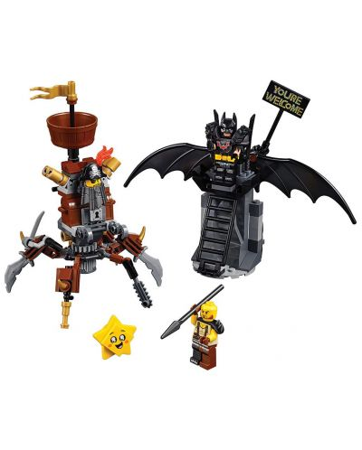 Конструктор Lego Movie 2 - Батман, готов за битка, и Железният (70836) - 5