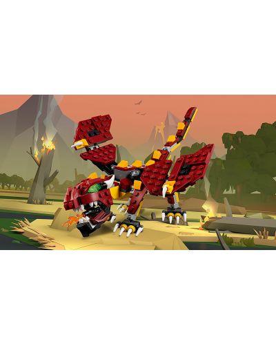 Конструктор Lego Creator - Митични същества (31073) - 8