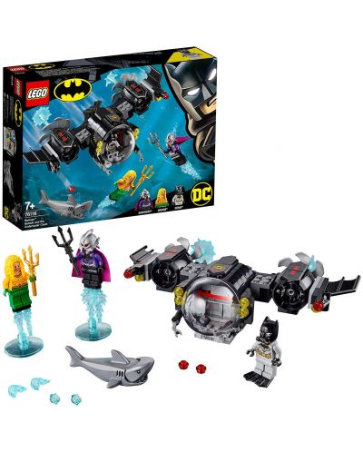 Конструктор Lego DC Super Heroes - Batman Batsub and the Underwater Clash (76116) - 5