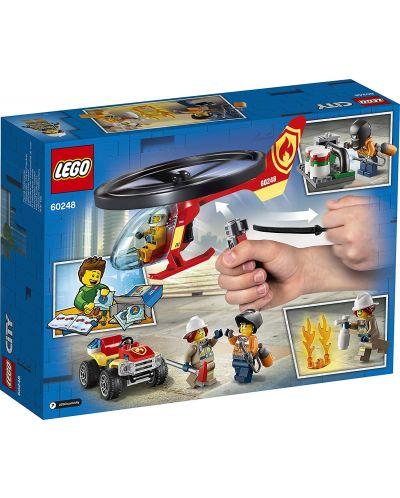 Конструктор Lego City Fire - Реакция с пожарен хеликоптер (60248) - 2