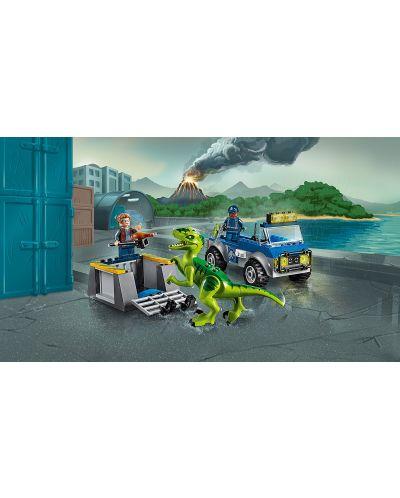 Конструктор Lego Juniors - Спасителен камион за Раптор - 4