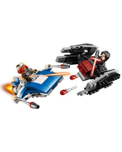 Конструктор Lego Star Wars - A-wing™ vs. TIE Silencer™ Microfighters (75196) - 6