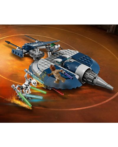 Конструктор Lego Star Wars - Бойният скутер на General Grievous (75199) - 4