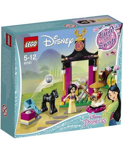 Конструктор Lego Disney Princess - Тренировката на Мулан (41151) - 1
