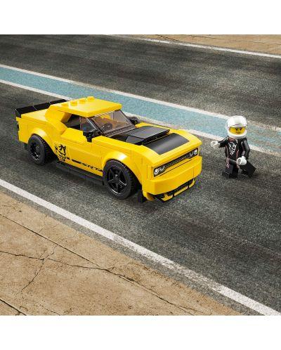 Конструктор Lego Speed Champions - 2018 Dodge Challenger SRT Demon и 1970 Dodge Charger R/T (75893) - 3