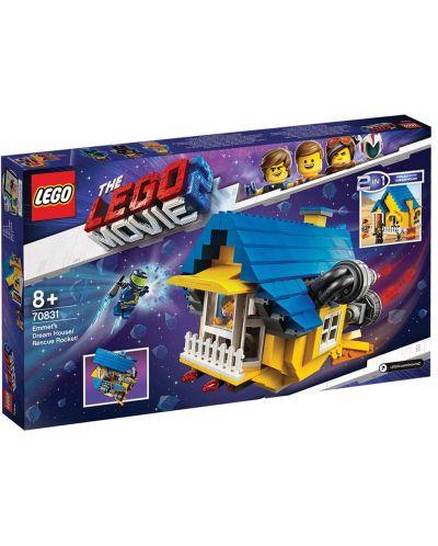 Конструктор Lego Movie 2 - Къща-мечта/ракета за бягство на Емет (70831) - 7