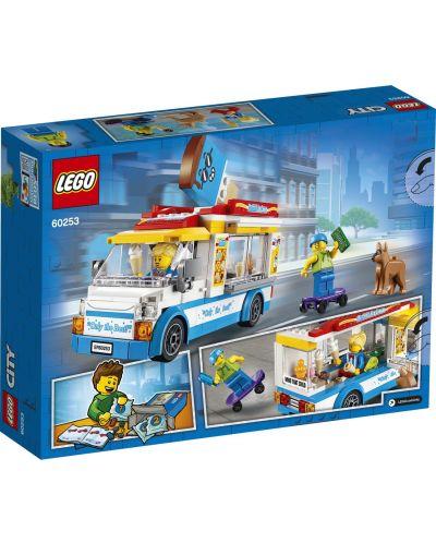 Конструктор Lego City Great Vehicles - Камион за сладолед (60253) - 2