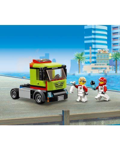 Конструктор Lego City Great Vehicles - Транспортьор на състезателни лодки (60254) - 8