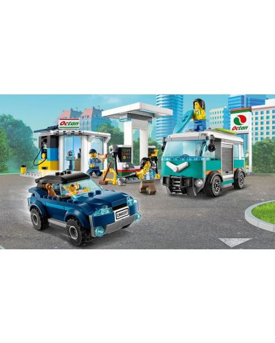 Конструктор Lego City Nitro Wheels - Сервизна станция (60257) - 8