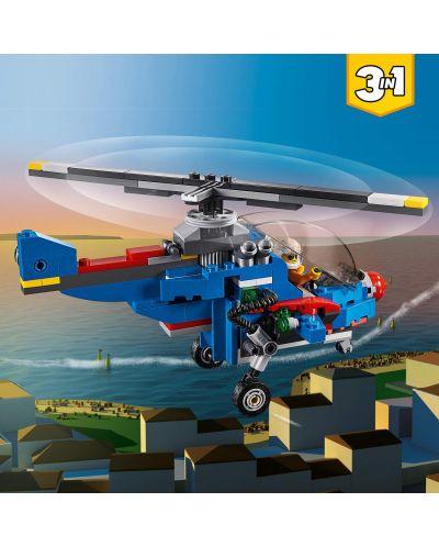 Конструктор 3 в 1 Lego Creator - Състезателен самолет (31094) - 3