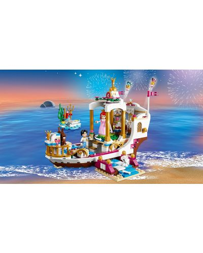 Конструктор Lego Disney Princess - Кралската лодка за празненства на Ариел (41153) - 5