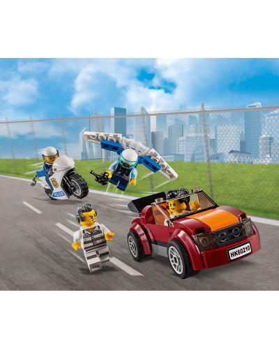 Конструктор Lego City - Полиция в небето, въздушна база (60210) - 3